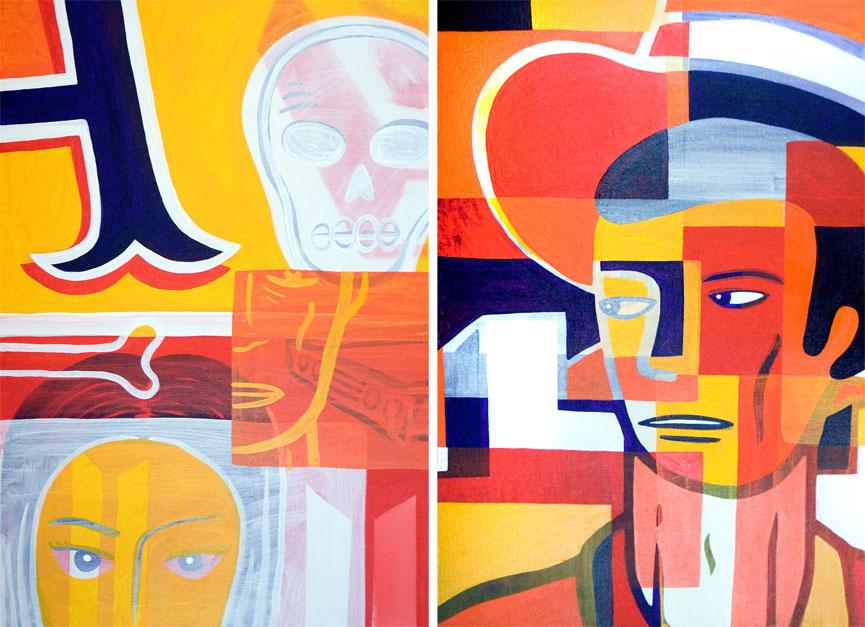 Obra a venda na Galeria Choque Cultural, em SP