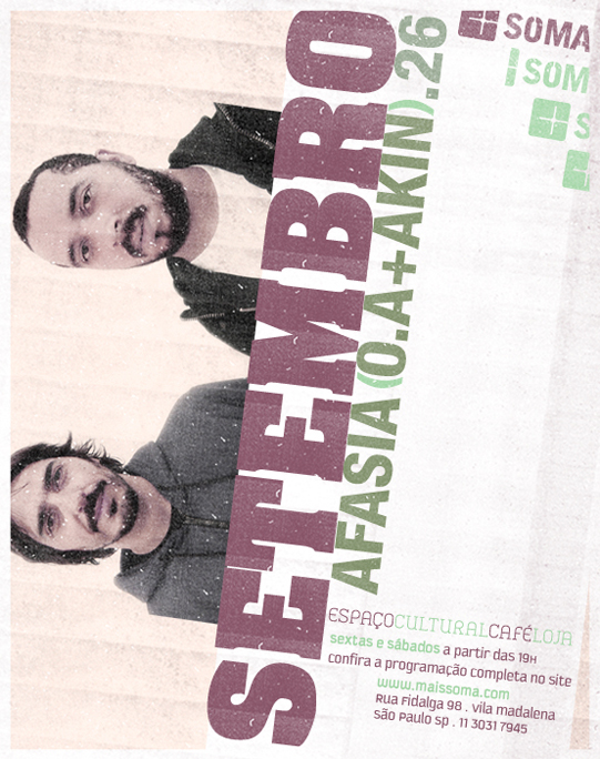 Carlos Issa e Chico aka Afasia