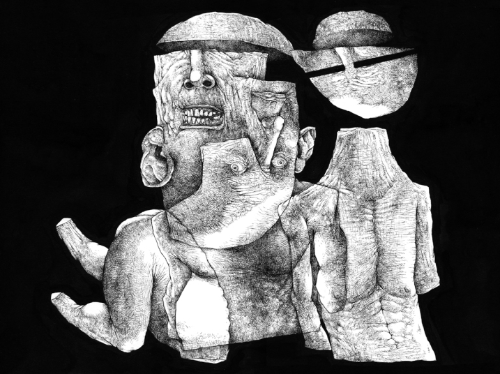 Desenho de Luciano Feijão