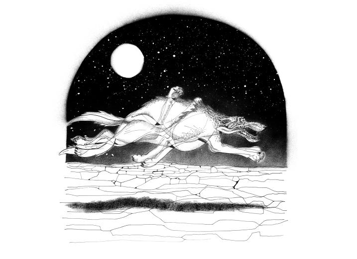 Desenho de Gabriel Albuquerque.