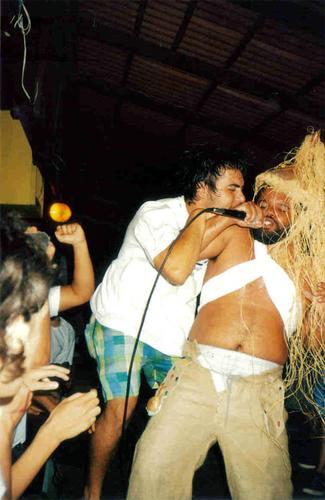 Luciano Feijah nos tempos de Man Or Afro Man!