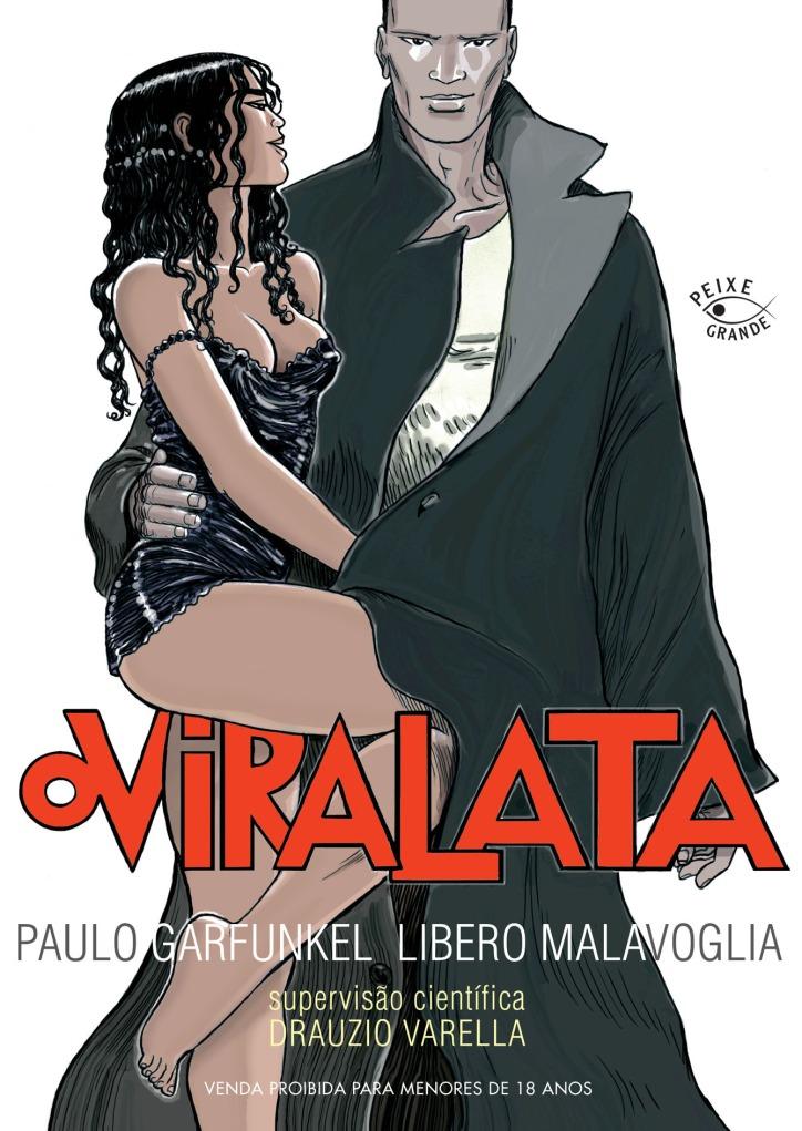 Capa da HQ Vira-Lata, da Editora Peixe Grande.