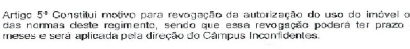 portaria CCE_artigo5