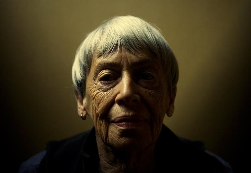 Le-Guin-portrait-by-Benjamin-Reed-2009
